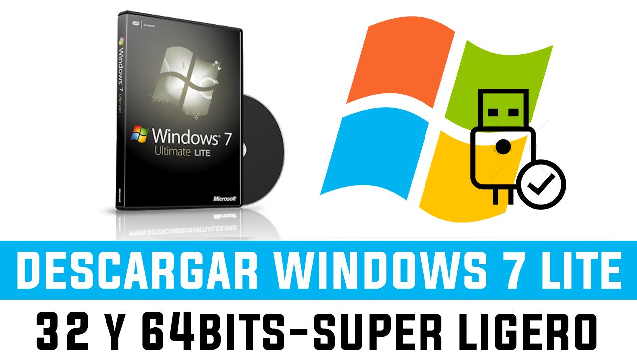 descargar iso windows 7 32 y 64 bits español full