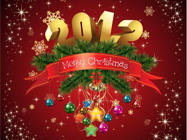 2012 Merry Christmas Cards | Wallpapers | Free Download