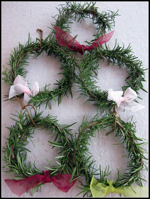 rosemary wreaths for a great smelling home