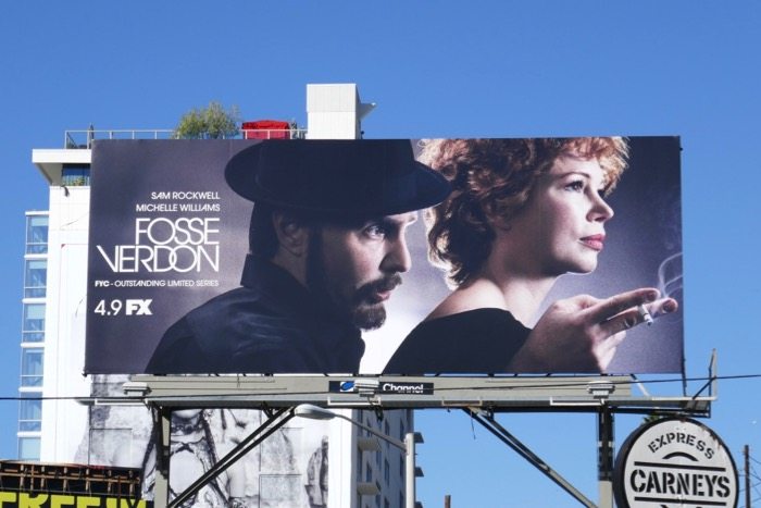 Fosse Verdon limited series billboard