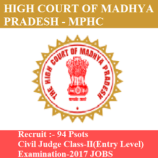 High Court Madhya Pradesh, MPHC, High Court, MP, Madhya Pradesh, Graduation, civil judge, freejobalert, Sarkari Naukri, Latest Jobs, mphc logo