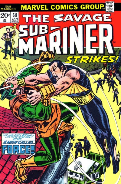 Savage Sub-Mariner #68, Force