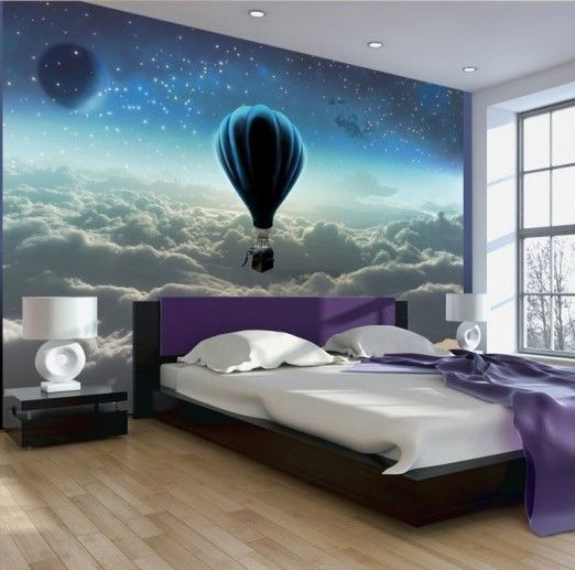 Best 3d wallpaper designs for living room and 3d wall art for Wallpaper for wall behind bed