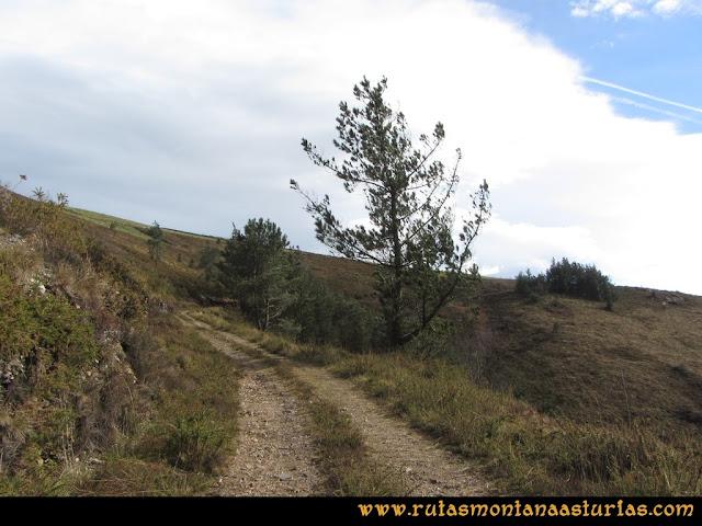 Ruta Alto Aristebano, Estoupo, Capiella Martín: Camino