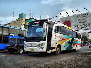 Fotobus Garuda Mas dan Putra Pelangi perkasa Jetbus 2 HD MB 0C500RF 2542