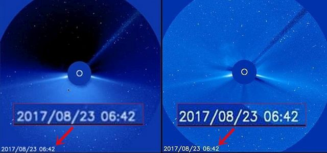 The Cover-Up! NASA Manipulated SOHO LASCO C2 Sun Images from August 23, 2017  Soho%2Blasco%2Bc2%2Bnasa%2Bsun%2Bimages%2B%25282%2529