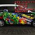 Avanza, Bekasi, Cutting Sticker, Digital printing, Hulk, jakarta, Mobil, Sticker Mobil, The Jokerr, Xenia