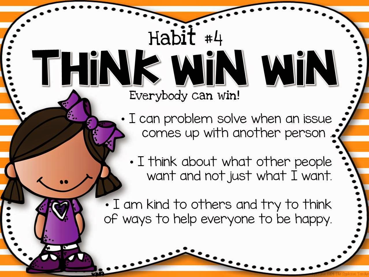 Miss Jones Kindergarten Class Habit 4