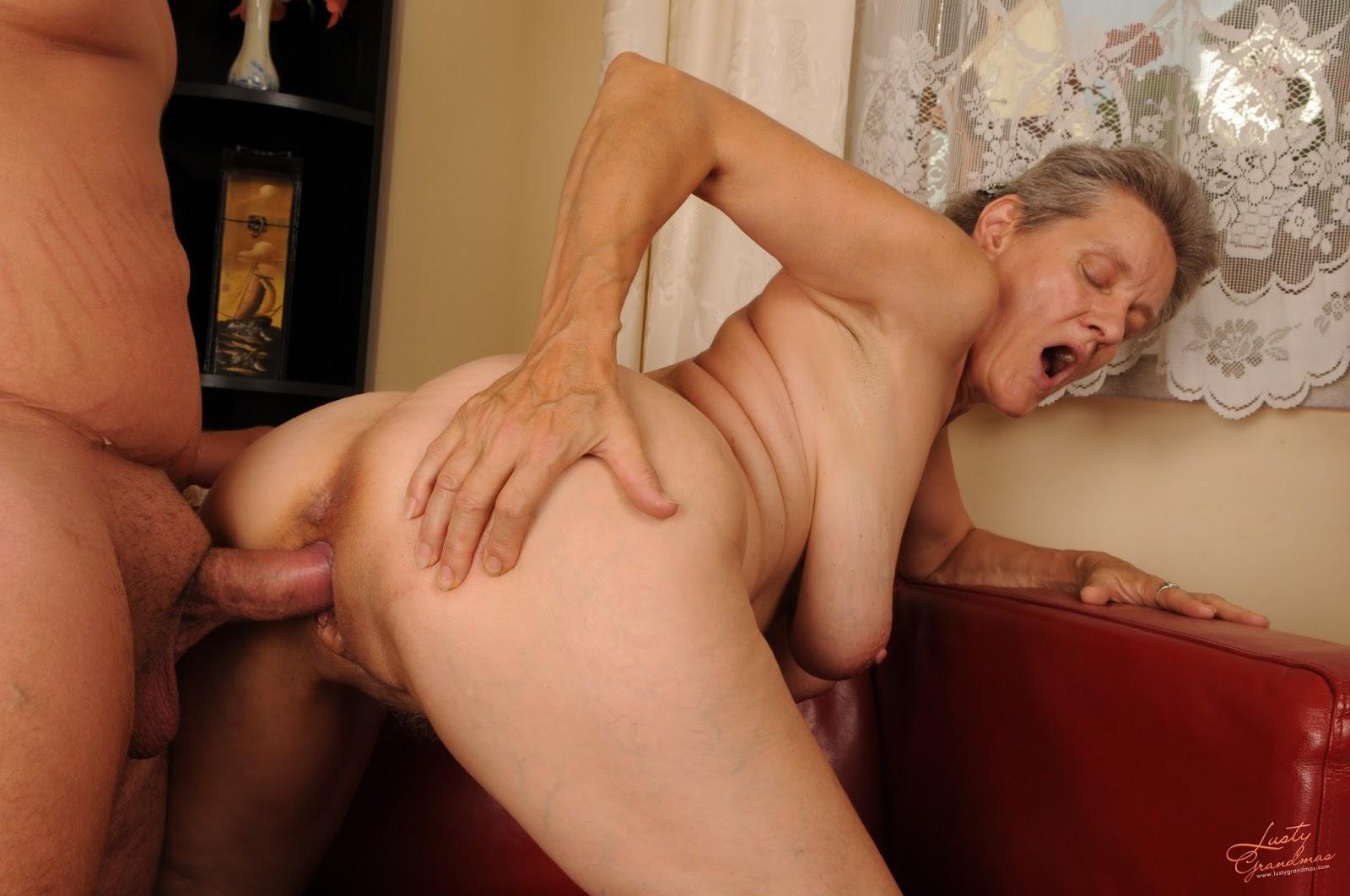 Reife damen anal