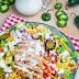 Southwestern Grilled Chicken Jalapeno Popper Salad Recipe