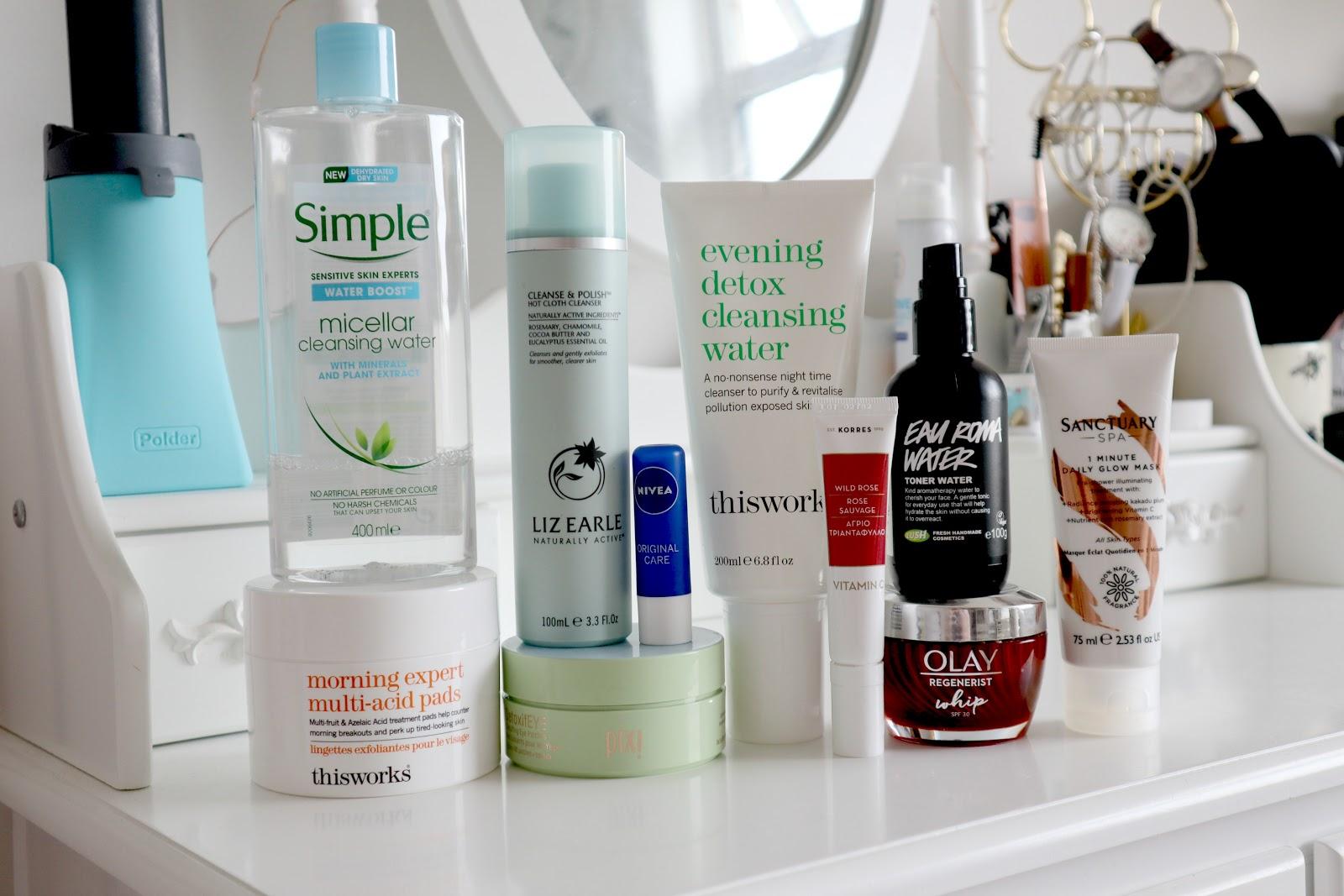 Current Top 10 Skincare Saviours