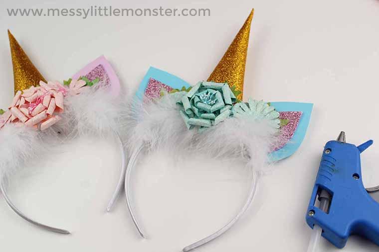 Unicorn Headband - a Fun Unicorn Craft for Kids