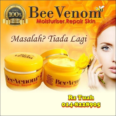 bee venom moisturiser repair skin anti jeragat