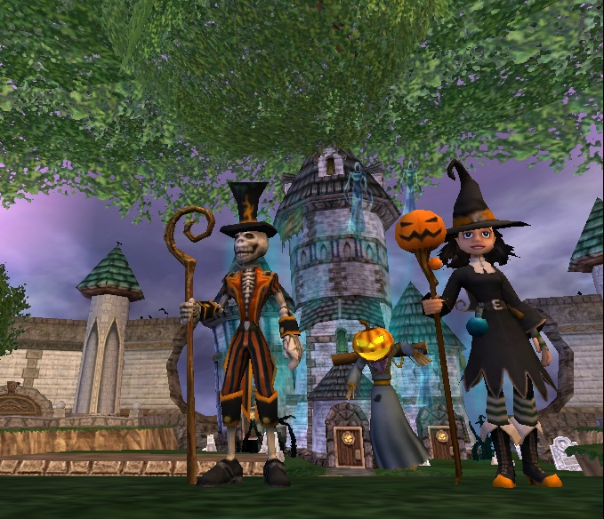 Paige's Page: It's Halloweenfest in Wizard101!
