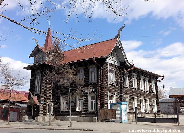 Самые красивые деревянные дома Томска