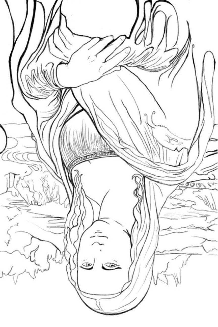 Appreciating Art: Upside Down Drawing