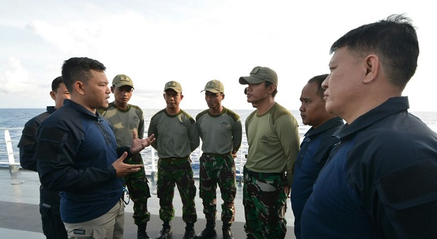 Dansatgas Nusantara-1 Bakamla RI Mantapkan Strategi