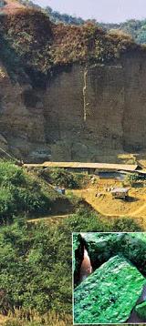 jade mining in Myanmar