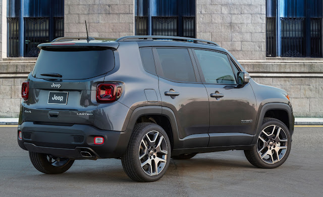 2019 Jeep Renegade Trailhawk - rear