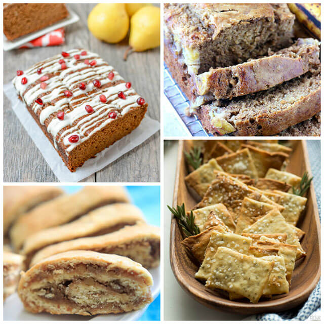 70+ Homemade Christmas Food Gifts: Baked Goods Recipes Like Bread, Crackers & Granola