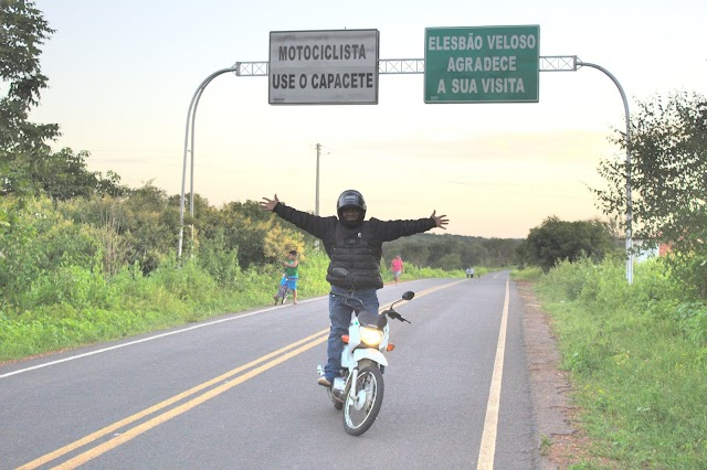Elesbonense viaja mais de 3 mil km de moto até São Paulo