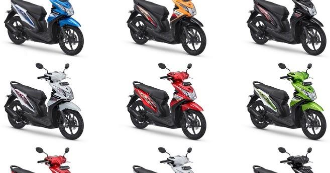 Daftar Harga Sparepart Honda Beat Ori Terbaru 2017