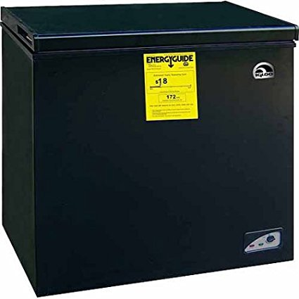 freezers reviews igloo 5 1 cu ft chest freezer black. Black Bedroom Furniture Sets. Home Design Ideas