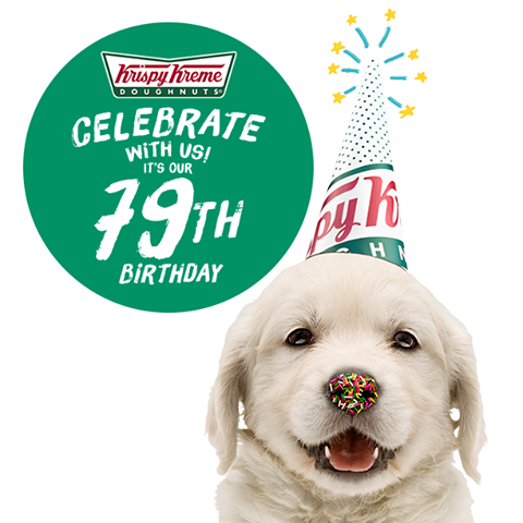 Krispy Kreme's Celebrating its 79th Birthday With These Yummy Treats For You