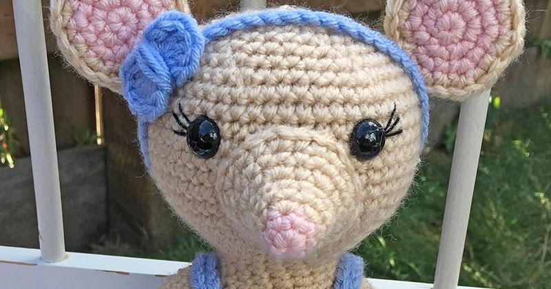 Mia the Ballerina Mouse – Crochet Amigurumi Plushie Soft Toy ... | 420x800