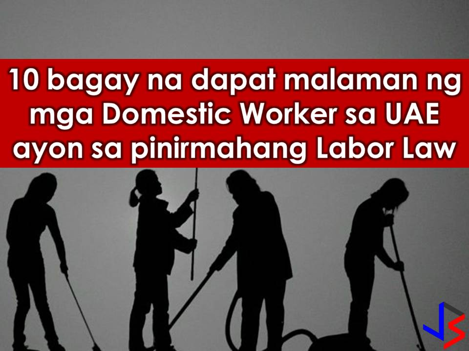 Do you have to take employers insurance? With the implementation of Philippine's deployment ban of Overseas Filipino Workers (OFWs) bound to Kuwait, other countries in the Middle East are now stepping up to take good care of Filipino workers in their country especially the domestic workers.  Read more: http://www.jbsolis.com/2018/02/uae-president-signed-uae-domestic-workers-law-bahrain-promises-to-protect-ofws.html#ixzz57j7HQaj2