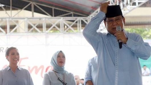 Stop Impor, Tim Prabowo: Masyarakat Harus Dibiasakan Hidup Keras