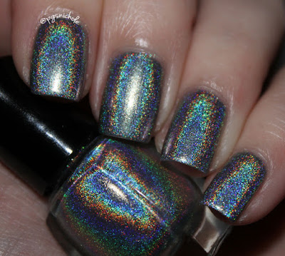 Sally Hansen Nail Prisms Lapis Amethyst & Vapid Lacquer Cryogenic Refrigerant
