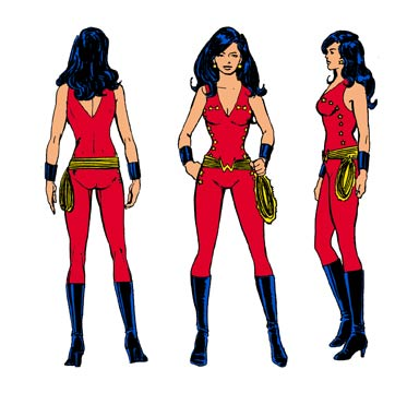 The Dork Review The New Teen Titans Model Sheets