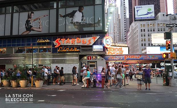 restaurantes diners en Nueva York ellen stardust diner
