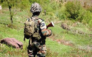 जम्मु कश्मीर की नियंत्रण रेखा पर पाकिस्तान ने की गोलाबारी एक सेन्य अधिकारी समेत चार जवान शहीद