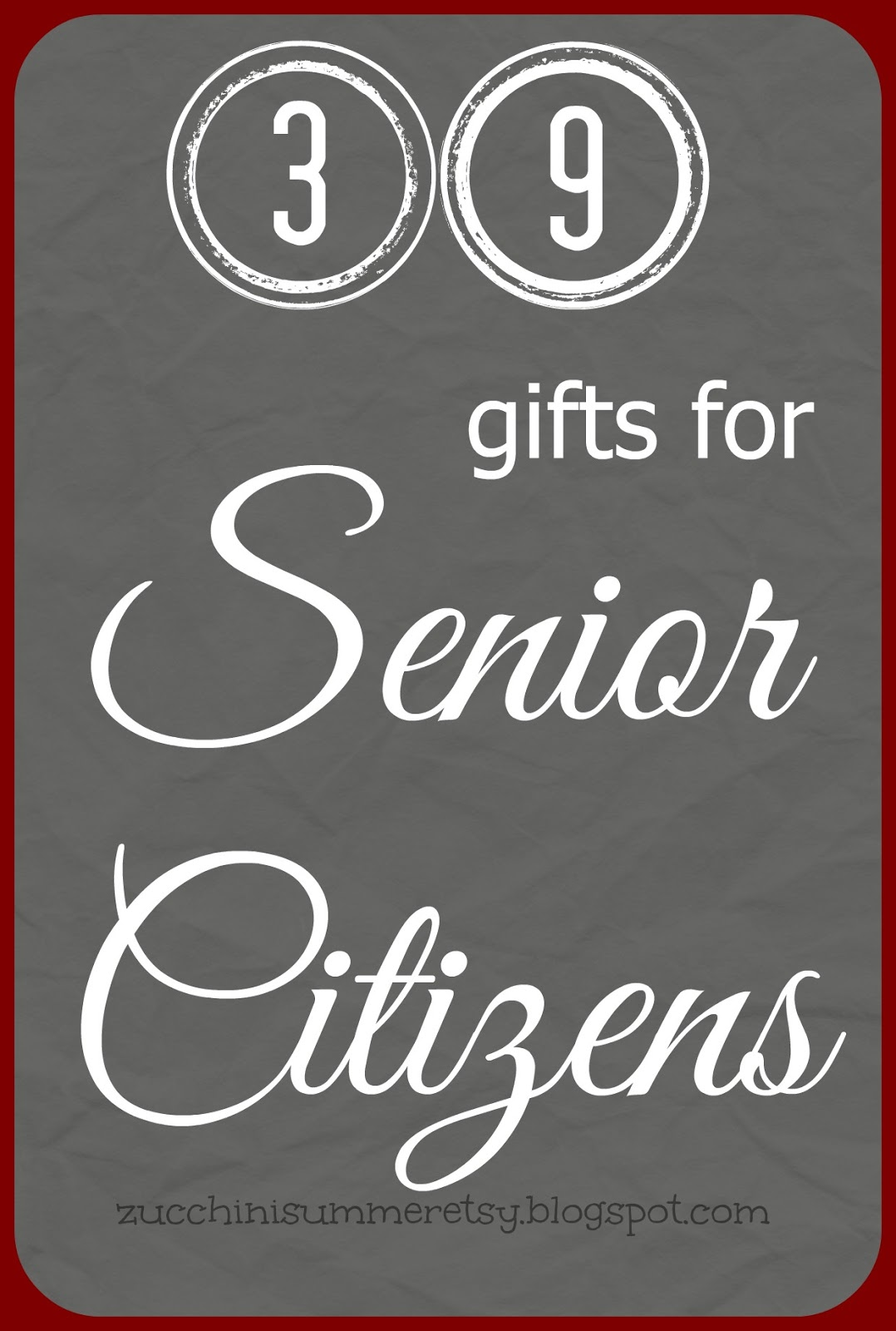 Gifts For Senior Citizens