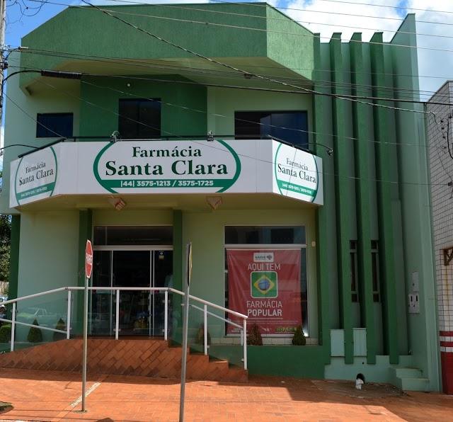 Farmácia Santa Clara informa que estará de plantão