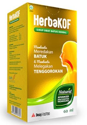 Harga Herbakof syr 60ml Terbaru 2017