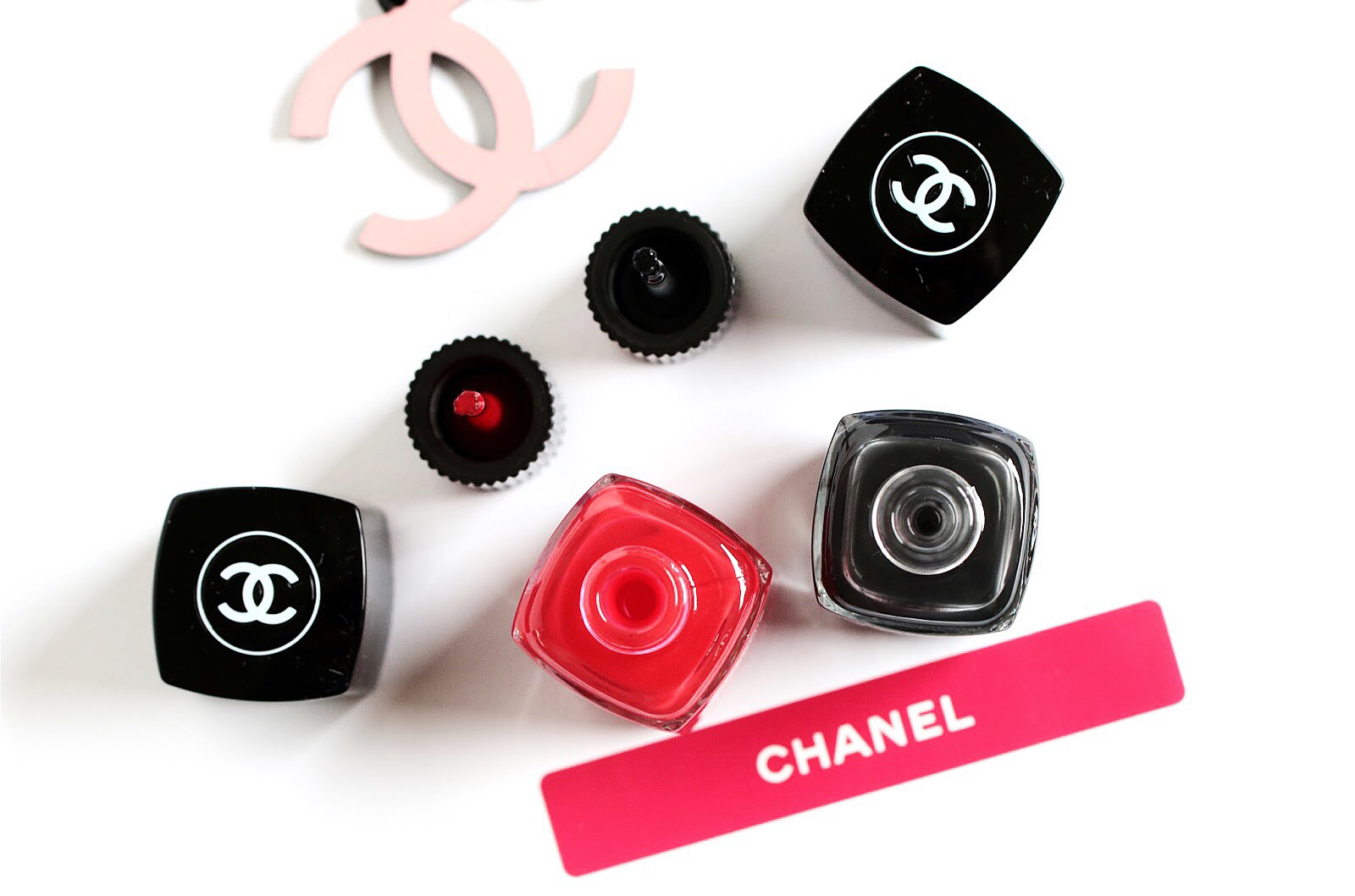 chanel vernis le top coat black métamorphosis avis test swatch