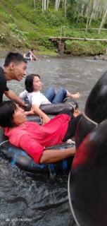 river tubing di Sumber Maron Malang