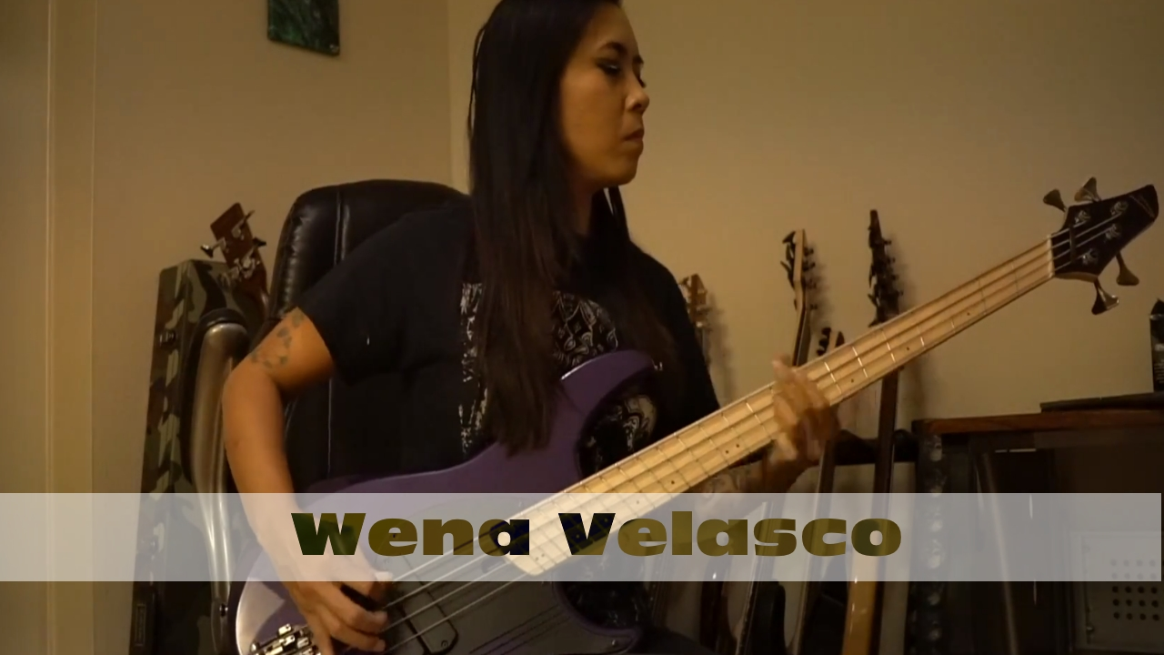 Wena Velasco: Pantera - Domination (Bass Cover)