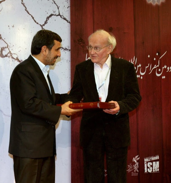 Image result for faurisson and ahmadinejad