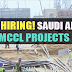 Urgent Recruitment to Saudi Arabia - MCCL Project | Apply Now