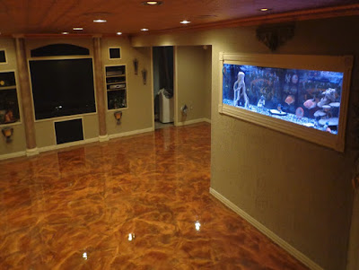 self leveling metallic epoxy flooring designs