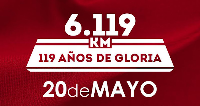 6k del Club Nacional de Fútbol (6.119 mts, Montevideo, dom 20/may/2018)