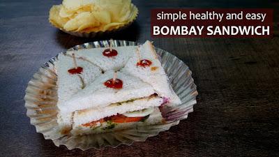 Bombay Sandwich / Veg Sandwich / Mumbai Street Side Sandwich