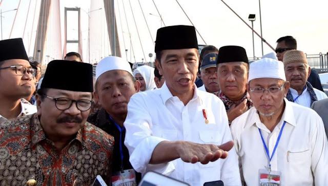 Gratiskan Jembatan Suramadu Disoal, Jokowi Blak-blakan Buka Suara