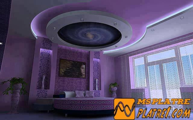Decor chambre 2017 decoration platre plafond - Decoration platre chambre ...