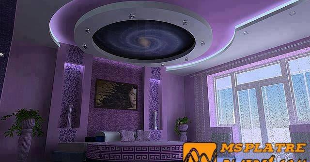 Decor chambre 2017 ms timicha d coration marocaine for Dicor platre marocain 2014