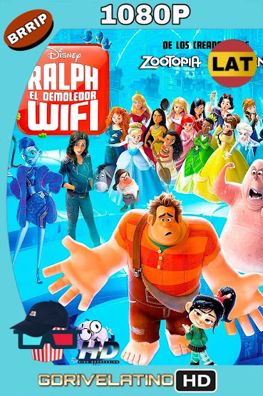 Wifi Ralph (2018) BRRip 1080p Latino-Ingles MKV